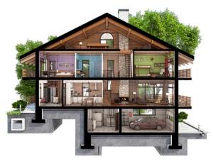 dom-przekroj-kondygnacje-pomieszczenia