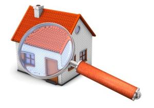 domek-czerwony-dach-lupa-sprawdzanie-eksploatacja-rekuperatora