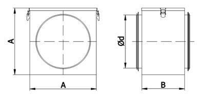 schemat-wymiarow-puszki-filtra-kanalowego-do-wentylacji-mechanicznej