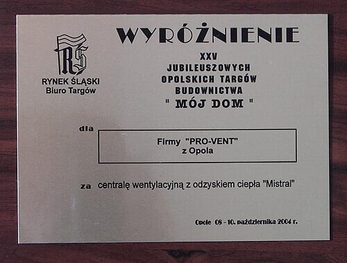 2004-wyroznienie-moj-dom-pro-vent