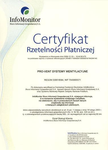 2008-certyfikat-rzetelnosci-platniczej-pro-vent