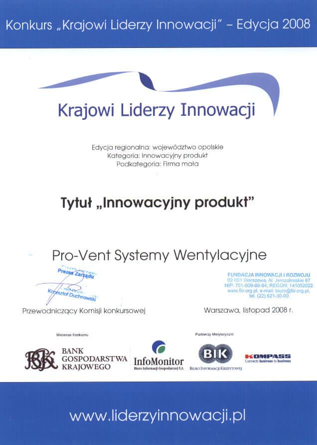 2008-tytul-innowacyjny-produkt-pro-vent